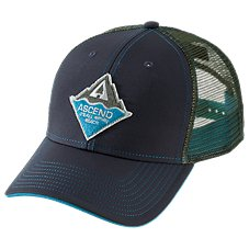 Ascend Peak Patch Mesh Back Cap