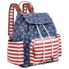 Quagga Americana Backpack Purse