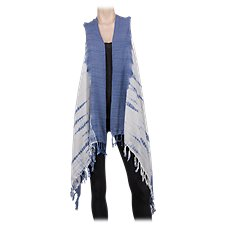 Quagga Tie-Dye Vest for Ladies