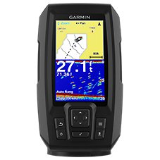 Garmin Striker Plus 4 Dual-Beam Transducer Fishfinder/GPS Combo