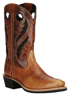 737cd8544b6 Ariat Heritage Roughstock Venttek Western Boots for Men 85 M