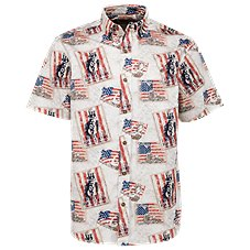 American Legacy WWII Icons Print Shirt for Men