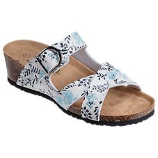 bcb4d292345ada Natural Reflections Whitney Wedge Sandals for Ladies