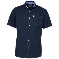 b5c71d373fd99 Bob Timberlake Solid Pucker Shirt for Men. More Colors Available. Dress  Blues  White