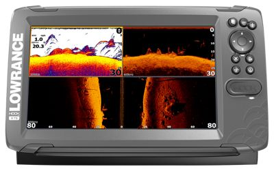 Lowrance hook2 9 tripleshot us inland maps fishfinder for Bass pro shop fish finders