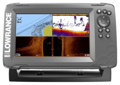 Lowrance hook2 7 tripleshot us inland maps fishfinder for Bass pro shop fish finders