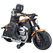 Maisto Harley-Davidson XL 1200N Nightster Remote Control Motorcycle with Rider