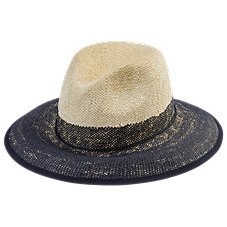 Bob Timberlake Feather Band Straw Hat for Ladies