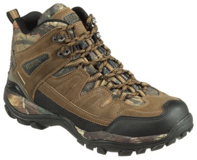 RedHead Blue Ridge Mid Hiker Shoes for Men - Brown - 8M