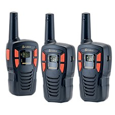 Cobra CXT195 Compact GMRS 2-Way Radio 3-Pack