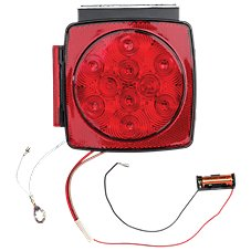 Blazer International 7 Function LED Submersible Combo Square Stop/Tail/Turn Light