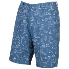 Bob Timberlake Island Print Shorts for Men