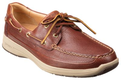 Sperry Gold Cup Ultra 2-Eye Boat Shoes for Men - Cognac - 9M
