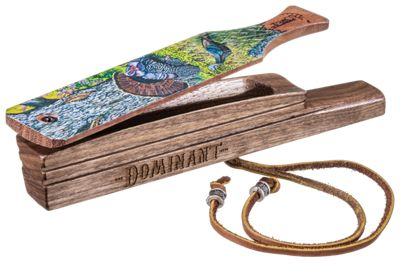 """Tom Teasers Custom Calls """"The Old Oak Gobbler"""" Collector's Grade Box Turkey Call"" thumbnail"