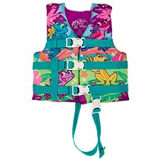 Bass Pro Shops Deluxe Frog Character Life Jacket for Kids