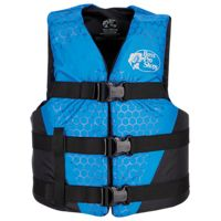 Bass Pro Shops Traditional Water Ski/Recreational Life Jacket for Adults Canada Version - Blue - 2XL/4XL