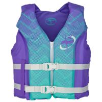 XPS Deluxe Hinged Life Jacket for Kids - Purple