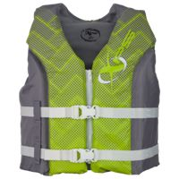 XPS Deluxe Hinged Life Jacket for Kids - Green