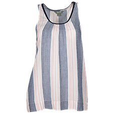 Natural Reflections Woven Stripe Tank Top for Ladies