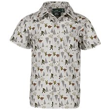 Bass Pro Shops Camp Print Poplin Shirt for Toddlers or Boys