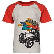 Bass Pro Shops Jeep Raglan Shirt for Toddlers or Kids