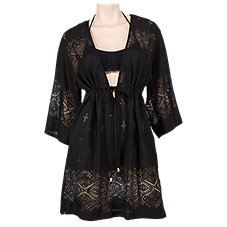 Wearabouts by Dotti Gypsy Dance Kimono Swimsuit Cover-Up for Ladies