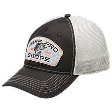 Bass Pro Shops Fish Mesh Back Fitted Cap