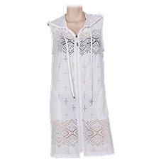Wearabouts by Dotti Gypsy Dance Zip Hoodie Swimsuit Cover-Up for Ladies