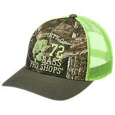 Bass Pro Shops 6-Panel Kanati Neon Mesh Back Cap