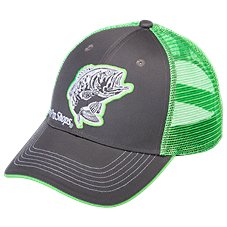 Bass Pro Shops 6-Panel Low-Profile Bass Mesh Back Cap