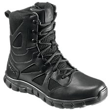 Reebok Sublite Cushion Tactical Waterproof Side Zip Duty Boots for Ladies
