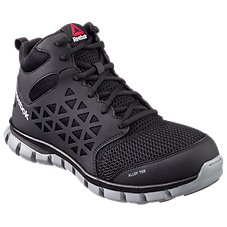 Reebok Sublite Cushion Work Mid Dual Resistor Alloy Toe Work Shoes for Men