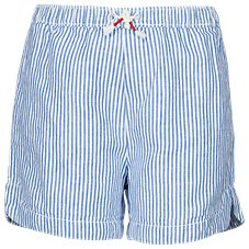 Bass Pro Shops Chambray Striped Shorts for Toddlers or Girls