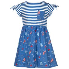 Bass Pro Shops Stripe Tie Top Dress for Toddlers or Girls