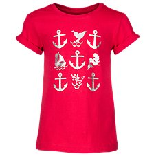 Bass Pro Shops Anchor Foil T-Shirt for Toddlers or Girls