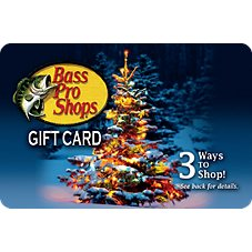 Bass Pro Shops Christmas Tree Gift Card Image