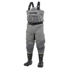 Frogg Toggs Steelheader Reinforced Nylon Insulated Felt Sole Boot-Foot Waders for Men