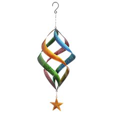 Evergreen Connected Spiral Kinetic Hanging Spinner