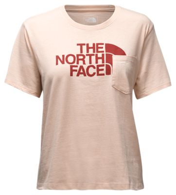 a2bd7c84d The North Face Bottle Source Logo T Shirt for Ladies Evening Sand ...