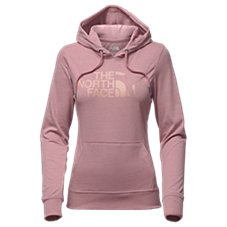 The North Face Heritage Bear Logo Lightweight Tri-Blend Pullover Hoodie for Ladies