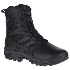 Merrell Moab 2 Tactical Response Waterproof Side Zip Duty Boots for Men