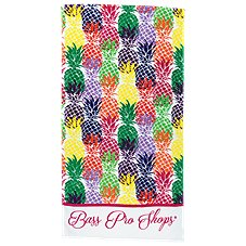 Bass Pro Shops Pineapples Premium Beach Towel