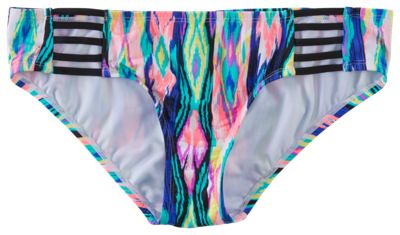Cole of California Mix and Match Collection Strappy Bikini Bottoms for Ladies - Multi - XL