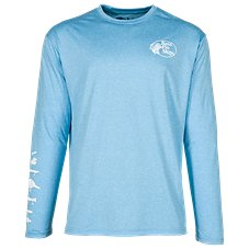 Bass Pro Shops Lure Print Performance Long-Sleeve T-Shirt for Men
