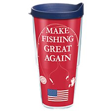 Tervis Tumbler Bass Pro Shops Make Fishing Great Again Insulated Wrap with Lid