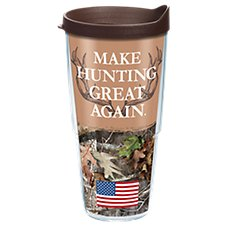 Tervis Tumbler Bass Pro Shops Make Hunting Great Again Insulated Wrap with Lid