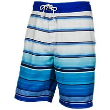 Bass Pro Shops Stripe Print Swim Trunks for Men