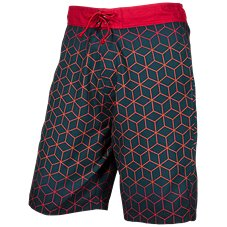 Bass Pro Shops Cube Print Swim Trunks for Men
