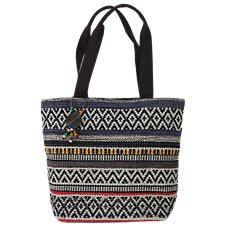 CATORI Accessories Aztec Woven Shoulder Bag