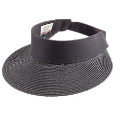 Sun 'N' Sand Accessories Paper Braid Visor for Ladies